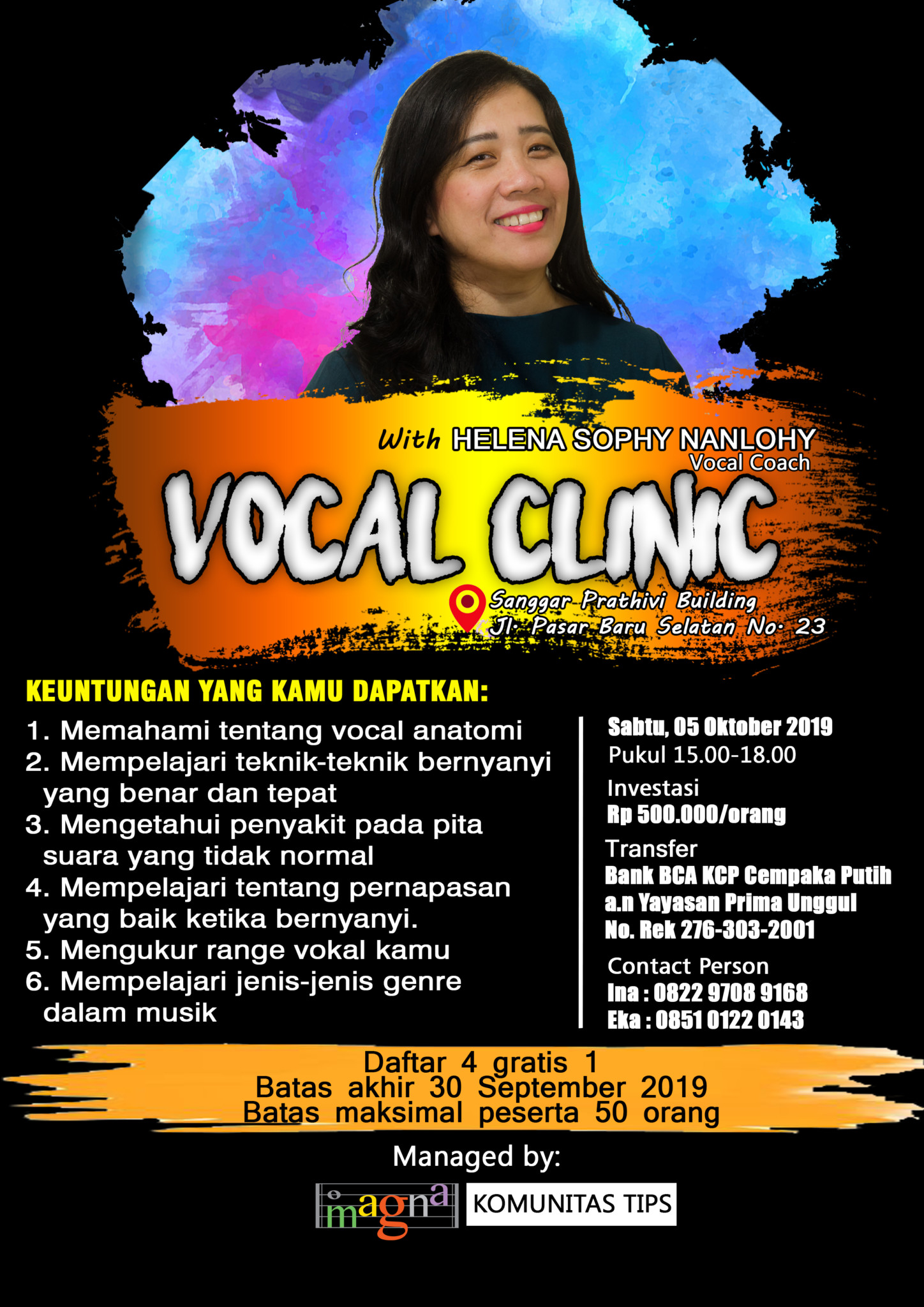 VOCAL CLINIC