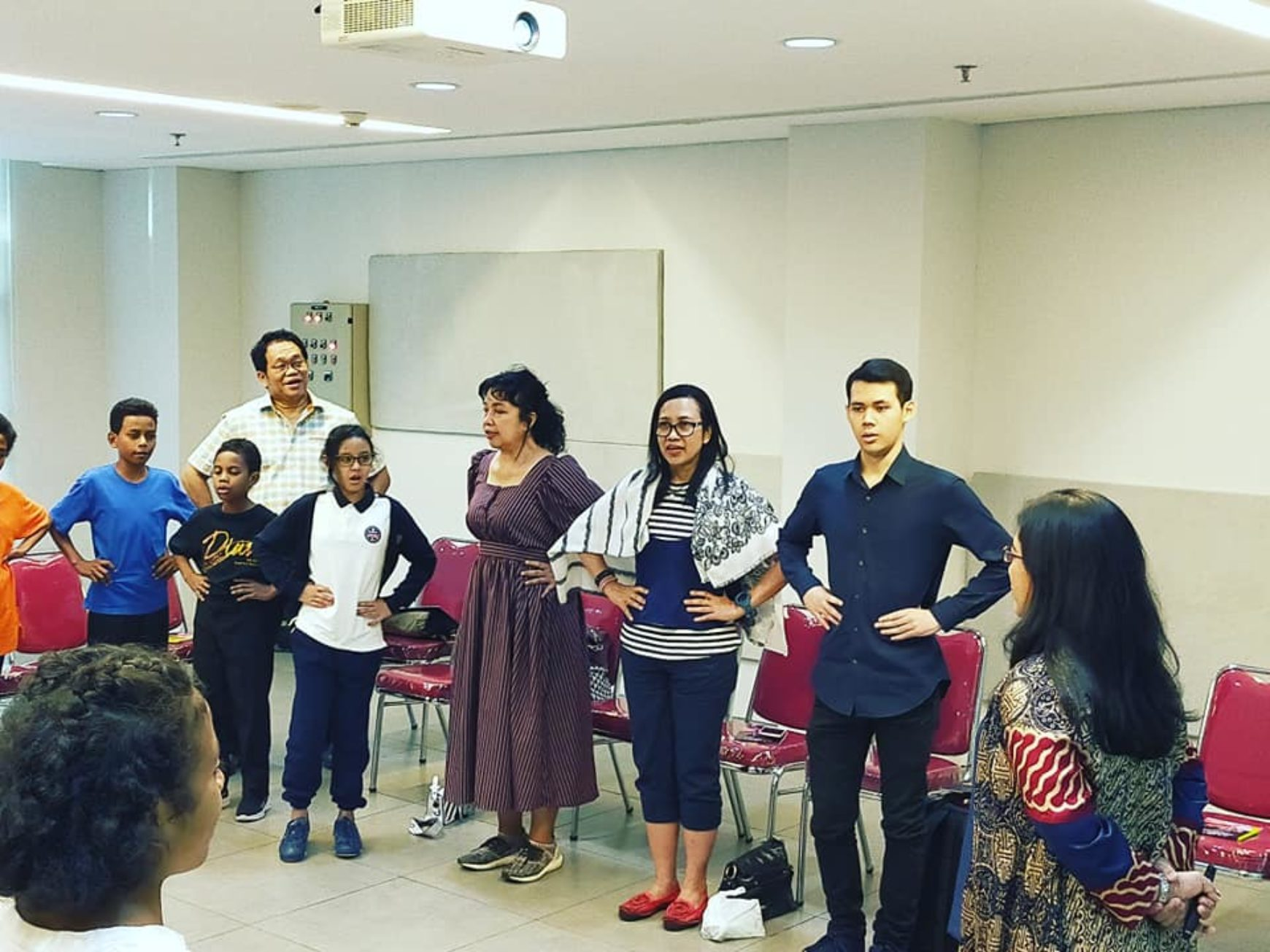 Serunya ikut Workshop Vocal Clinic