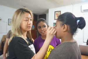 Pelatihan make up bersama Kak  Chelsea Yusuf - Make up Artis (09-06-2018)