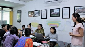 Pelatihan Marketing bersama Ibu Tamara van Kralingen - Marketing unilever (03-04-2019)