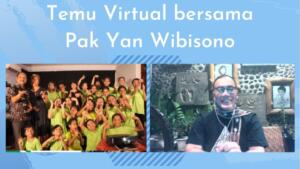 Temu mitra secara virtual bersama Pak Yan Wibisono ( Associate Director of Human Resources & General Services McDonald's Indonesia )- ( 31-10-2020 )